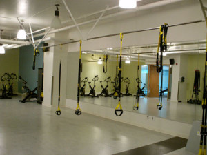 Fitness Centre Design Consulting Services - Group Exercise Area